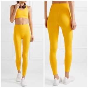 All Access Center Stage Leggings In Bright Yellow